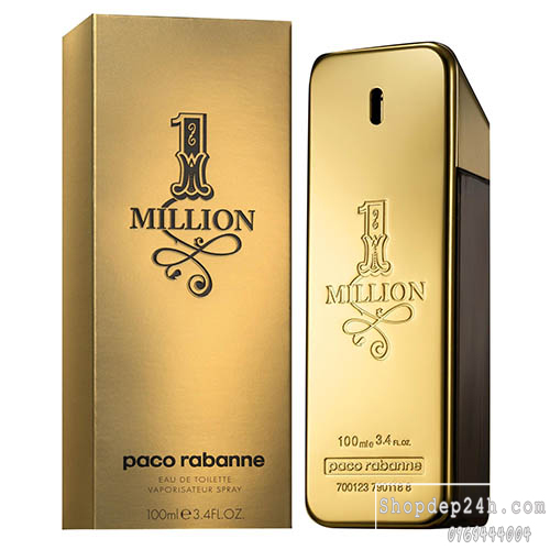 [Paco Rabanne] Nước hoa mini nam Paco Rabanne One Million 5ml